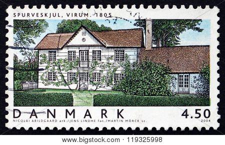 Postage Stamp Denmark 2004 Danish House Architecture