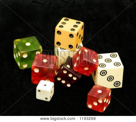 Variety Of Dice