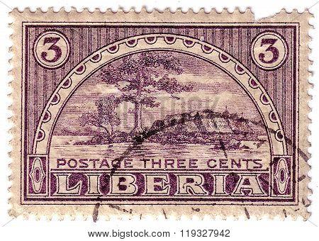 Postage Stamp Providence Island, Monrovia Liberia 1915