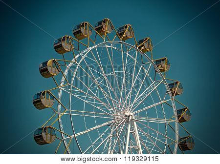 Ferris Wheel On The Sky