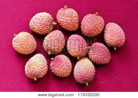 Lychee Fruit (litchi, Liechee, Or Lichee)