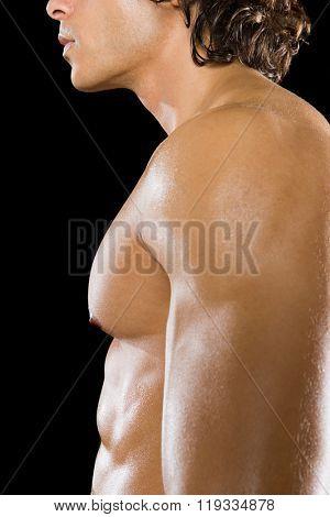mans chest