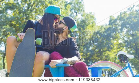 Hipster Couple