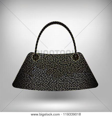 Modern Handbag Isolated