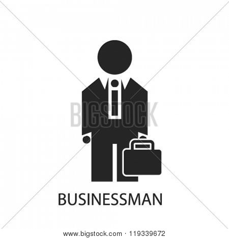 businessman icon, businessman logo, businessman icon vector, businessman illustration, businessman symbol