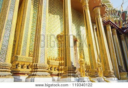 Temple in Grand Palace, Wat Phra Kaew, Thailand