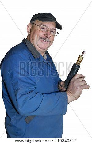 Portrait Of A Happy Employee