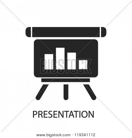 presentation icon, presentation logo, presentation icon vector, presentation illustration, presentation symbol, presentation isolated, presentation image, presentation drawing, presentation concept