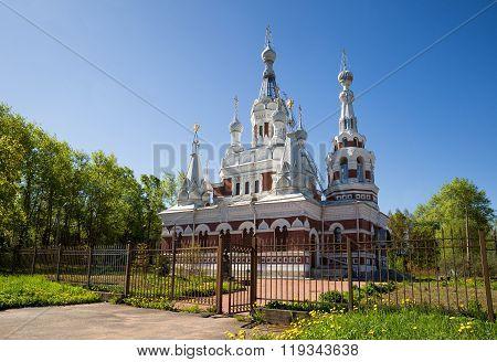 Nicholas Cathedral, Pavlovsk, Saint-petersburg