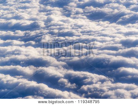 Clouds Pattern Photo