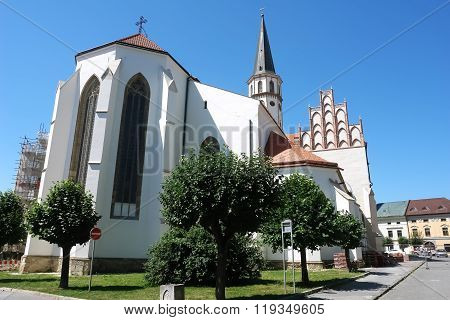 Cathedral In Levoca.