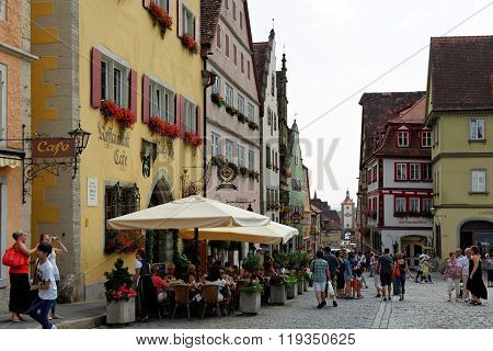 Rothenburg Ob Der Tauber Germany.