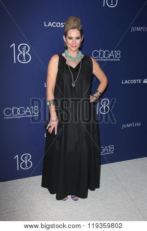 LOS ANGELES - FEB 23:  Meredith Monroe at the 18th Costume Designers Guild Awards at the Beverly Hilton Hotel on February 23, 2016 in Beverly Hills, CA