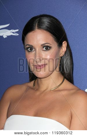 LOS ANGELES - FEB 23:  Angelique Cabral at the 18th Costume Designers Guild Awards at the Beverly Hilton Hotel on February 23, 2016 in Beverly Hills, CA