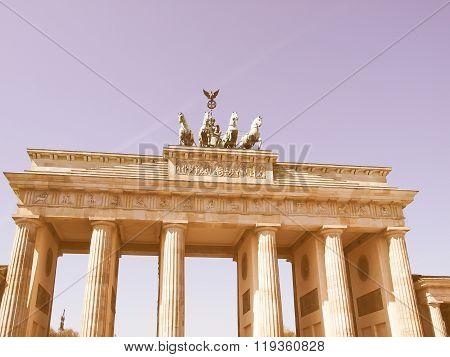 Brandenburger Tor, Berlin Vintage
