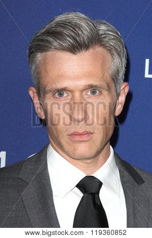 LOS ANGELES - FEB 23:  Nate Clark at the 18th Costume Designers Guild Awards at the Beverly Hilton Hotel on February 23, 2016 in Beverly Hills, CA