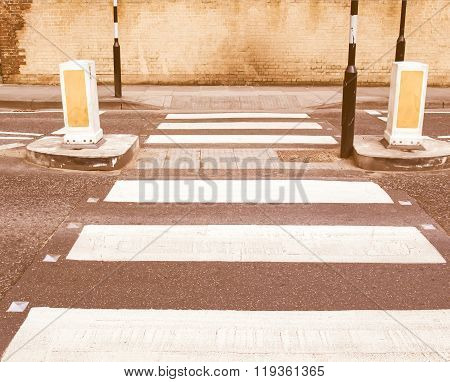 Zebra Crossing Vintage