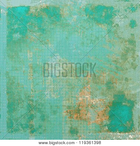 Art grunge vintage textured background. With different color patterns: yellow (beige); brown; green; blue; cyan
