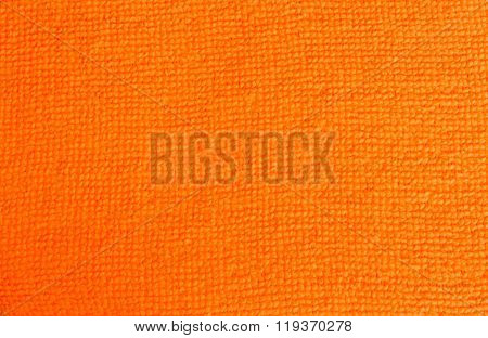 Orange Terrycloth