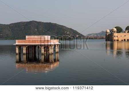 Rajputana Architecture of Jal Mahal
