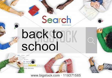 Back to School Education Knowledge Study Wisdom Concept