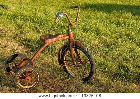 Child s Vintage Tricycle