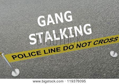 Gang Stalking Concept