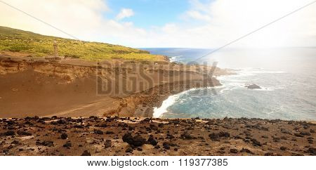 Landscape from Faial Island, Azores, Portugal