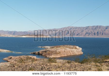 The Mountains Of Lake Mead