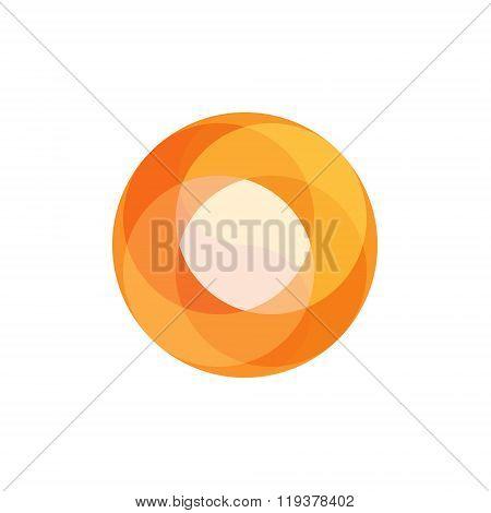 Fireball Abstract illustration for business logo overlay