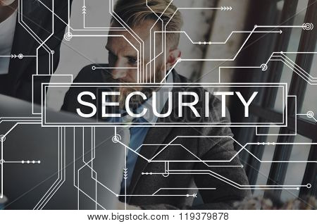 Security Shield Privacy Protection Confidentiality Concept
