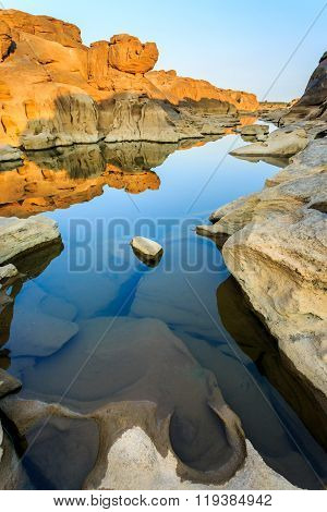 Unseen Thailand Grand Canyon Sam Pan Bok At Ubonratchathani