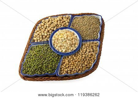 variety of legumes