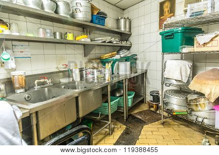 Irregularity Cuisine Setting, Dirty Kitchen