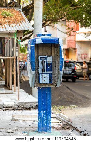 Phone Booth In Kota Manado City