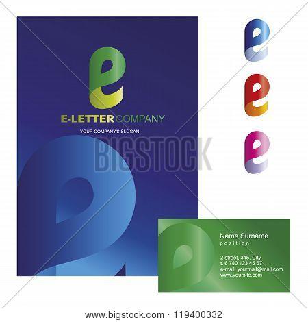Template corporate company signs E-letter_logo_01