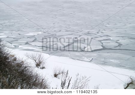 River Freezed Over
