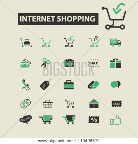internet shopping icons, internet shopping logo, internet shopping vector, internet shopping flat illustration concept, internet shopping infographics, internet shopping symbols,