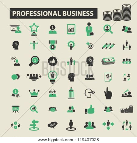 professional business icons, professional business logo, professional business vector, professional business flat illustration concept, professional business infographics