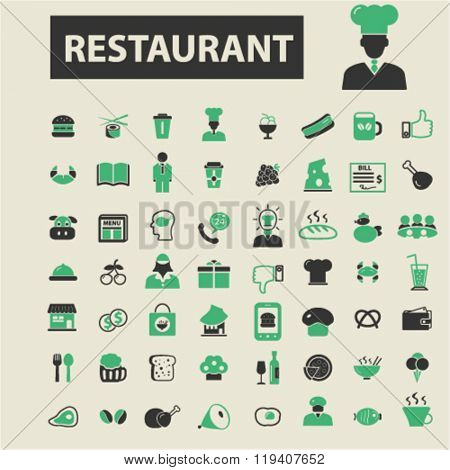 restaurant icons, restaurant logo, restaurant vector, restaurant flat illustration concept, restaurant infographics, restaurant symbols,