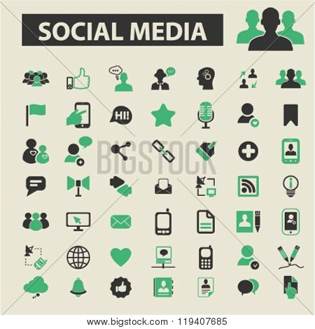 social media icons, social media logo, social media vector, social media flat illustration concept, social media infographics, social media symbols,