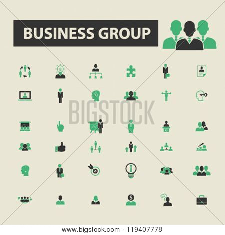 business group icons, business group logo, business group vector, business group flat illustration concept, business group infographics, business group symbols,