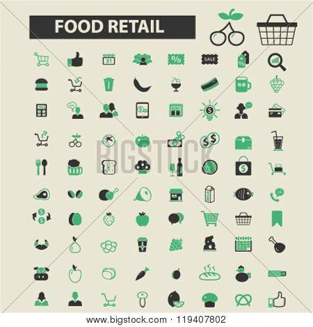 food shopping icons, food shopping logo, food shopping vector, food shopping flat illustration concept, food shopping infographics, food shopping symbols,