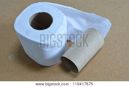 tissue paper on table
