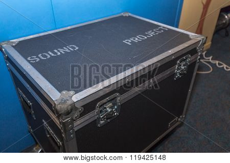 Hard Case for carrying studio equipment