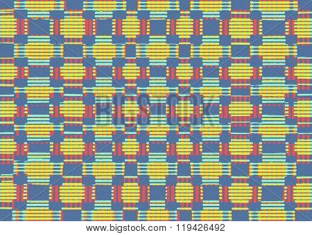 Connecting Squares Pattern