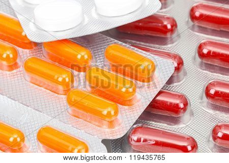 Various tablets capsules pills