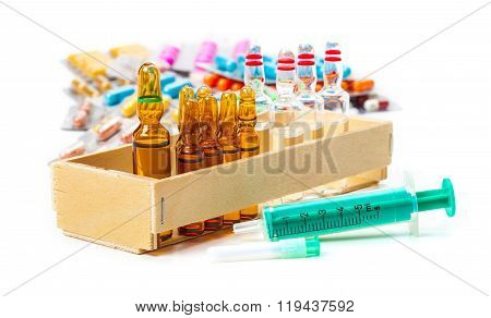 Disposable Syringe, Ampoules, Vaccine, Tablets