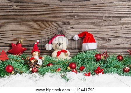 Christmas Decoration, Christmas Teddy Bear, Imp