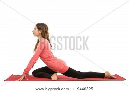 Pigeon Pose In Yoga